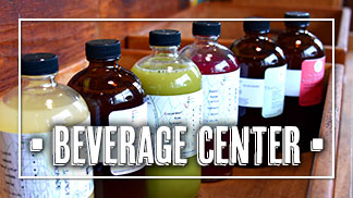 Brick Farm Market beverage center shop online, juices and kombucha